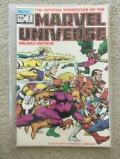 The Official Handbook of the Marvel Universe Deluxe Issue 1 (Marvel Comics)