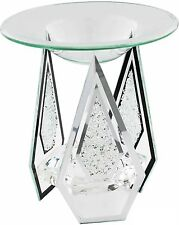 A forma di diamante vetro Yankee Candle Tart / olio bruciatore TEA LIGHT CANDLE HOLDER REGALO