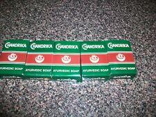 NEW Original Natural Chandrika Ayurvedic Herbal Soap (Pack of 5)