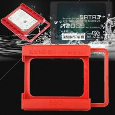 2.5'' SSD HDD to 3.5'' Mounting Adapter Dock Bracket Bay Holder For PC Case R WT