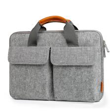 "Inateck 13""-13.3"" graue Laptop-Hülle, Filzhülle für MacBook Air/MacBook Pro"