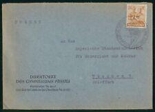 Mayfairstamps Germany 1948 Direktorat Gymnasiums Passau Couple Wheat Cover wwr_0