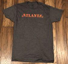 Atlanta Shirt Fx Donald Glover Charcoal Gray Orange Men's Size L