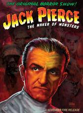 Jack Pierce The Maker of Monsters DVD Universal Monsters Frankenstein Karloff