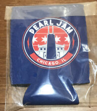 PEARL JAM 2018 OFFICIAL CHICAGO WRIGLEY FIELD PJ CONCERT DRINK COOZIE KOOZIE