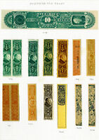Mexico Tobacco & Snuff Stamp Lot 16 Pieces