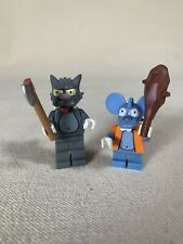 LEGO The Simpsons ITCHY and SCRATCHY Mini Figure Set Series 1