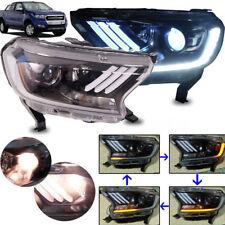 15 16 17 Ford Ranger T6 Facelift MC Mustang Head Lamp Light Projector White LED