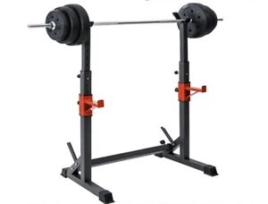 Supporto Bilancere rastrelliera rack dip 150Kg fitness bodybuilding Squat