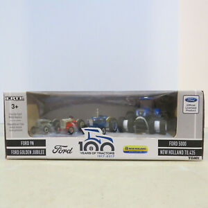 Ertl Ford/New Holland 100 Years of Tractors Set 1/64 Scale NH-16367-B
