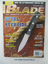Blade  Magazine  October 2007  Best  Of All Sword Movies
