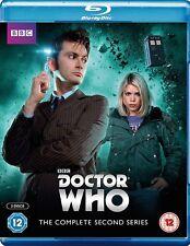 DR WHO 2006 Series 2+2005 CHRISTMAS Doctor David TENNANT + ROSE Season - BLU-RAY