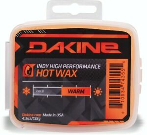 Dakine Indy High Performance Hot Wax for Snowboards Warm Temp 4.5 oz 128g