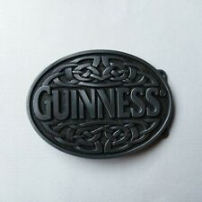 GUINNESS Irish Stout Metal BELT BUCKLE Celtic Knot HEBILLA