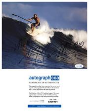 Laird Hamilton 'Take Every Wave' Signed Surfing 8x10 Photo ACOA B