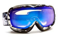 New $110 Scott Womens Aura Fashionwash Black Ski Goggles snow smith Winter Lens