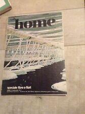 HOME MARZO 1978 - MENSILE DEL TESSILE D'ARREDAMENTO ARCHITETTURA SPECIALE FILATI