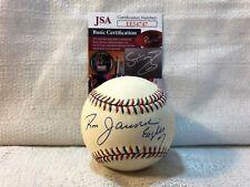 Ron Jaworski Signed Autographed Eagles Football 1995 All Star Game Baseball JSA