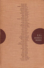 FIFTY MODERN STORIES edited by Thomas M. H. Blair, HB, 1960, textbook