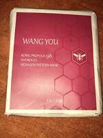 Royal Propolis Hydogel Hexogan Pattern Facial Sheet Mask - 5 Pack Korean New