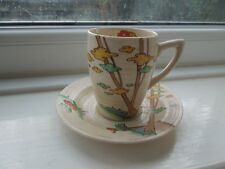 Clarice Cliff Coffee Cup and Saucer