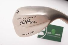 TAD MOORE MASTER DESIGNER SAND WEDGE / 55 DEGREE / WEDGE FLEX SHAFT / 69820