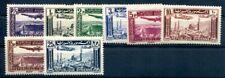 SYRIE 1937 Yvert PA 78-85 * TADELLOSER SATZ FLUGPOST 18€(F1363