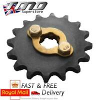 13 Tooth Front Sprocket And Bolts 17mm Spline Shaft 428 Pitch Pit Bike Pitbike