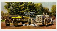 1911 INDY 500 AUTO RACING RAY HARROUN MARMON WASP 12X18 POSTER PETER HELCK ART