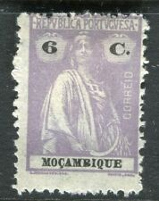 PORTUGUESE MOZAMBIQUE; 1914 early Ceres issue Mint hinged 6c. value