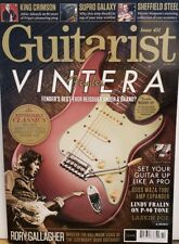 Guitarist Issue 451 Oct 2019 Fender Vintera Rory Gallagher FREE SHIPPING CB