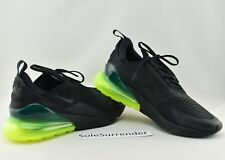 Nike Air Max 270 в черный, темно серый, белый неоновый