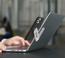 Laptop Side Mount Clip Phone Holder Magnetic Adjustable Bracket Aluminum Magnet