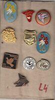 pin 10 pins badge anstecknadel PIGEON bird pigeons dove Yugoslavia Lot 4