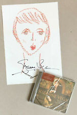 SUZANNE VEGA * TALES FROM THE REALM * 10 TRK CD w/ EXCLUSIVE SIGNED PRINT * BN!