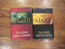 2 Hardcover Left Behind THE MARK  THE REGIME  Tim Lahaye Jerry B. Jenkins