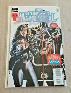 Punisher War journal #75 NM 1ST Lynn Michaels Punisher Marvel Comics 1995