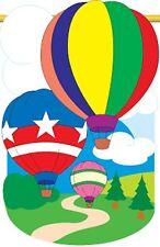 Hot Air Balloon House Size Flag TG 06043