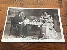 early 1900s postcard . mr & mrs kennerley rumford & family .rotary photo