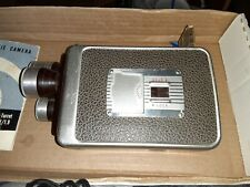 Brownie Movie Camera 8mm Turret F/1.9 With Original Manual. Functioning