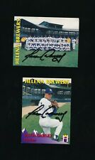 1995 Team Issue Helena Brewers Signed Autograph Jason Dawsey rare issue lot (2)