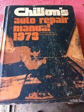 Vintage Chiltons Auto Repair Manuel 1966 1967 1968 1969 1970 1971 1972 1973