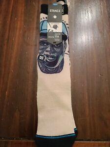 9-12 Rare 2015 Stance Jackie Robinson Brooklyn Dodgers Socks Mens Size L NWT