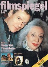 FILMSPIEGEL 1/1991 LOTTI HUBER ROSA VON PRAUNHEIM EMILIO ESTEVEZ    (FS641)