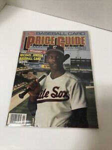 SCD Baseball Card Price Guide Magazine MICHAEL JORDAN November 1990 Insert Cards