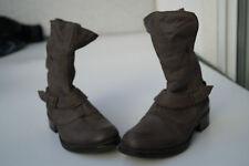 warme LimeLight Damen Winter Stiefel Boots Schuhe gefüttert Leder Gr.37 grau TOP