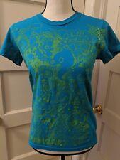 Kill Brand Monster Tshirt emo scene punk turquoise teal neon green