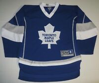 NHL Official Hockey Toronto Maple Leafs Sewn Stitched Jersey Youth S/M Medium