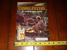 CAMEL LAND ROVER - ORIGINAL 1985 AD