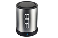 808 CANZ Bluetooth Wireless Speaker - Silver Bulk Packaging